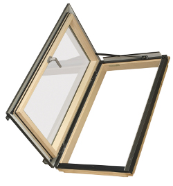 Распашное мансардное окно FAKRO