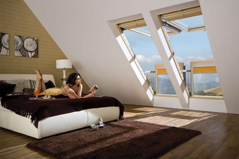Купить окно-балкон fakro fgh-v p2 galeria (факро) по ценам п.