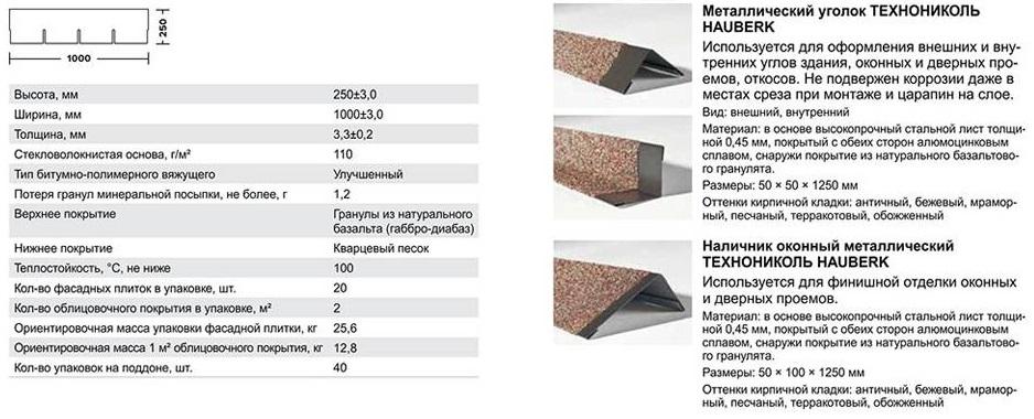 Комплектующие для фасадной плитки