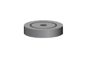 Уплотнитель из пластиката h=7 мм