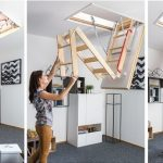 Как выбрать чердачную лестницу