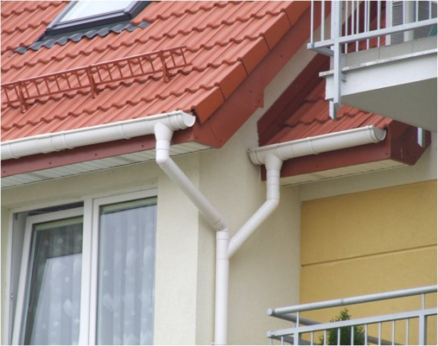 Виды водостоков для крыши