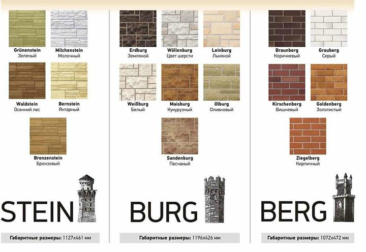 Фасадные панели для облицовки дома